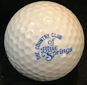 The Country Club of Blue Springs Golf Course Logo Ball Blue Springs, MO