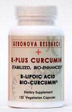 R-PLUS Curcumin - Bio-Enhanced R-Lipoic Acid plus Bio-Curcumin - 120 veg caps