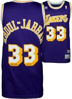 Kareem Abdul-Jabbar Lakers Signed Purple Jersey with Insc - Fanatics