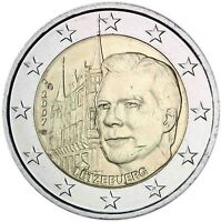 Luxemburg 2 Euro 2007 Großherzoglicher Palast Großherzog Henri