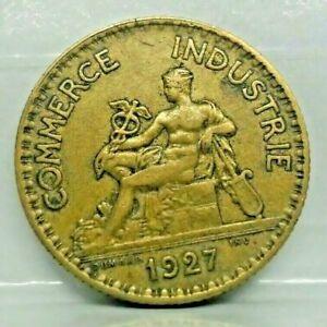 1 franc chambre de commerce 1927 - TTB - monnaie France - N10385
