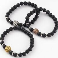 Lion Lava Bead Diffuser Scent Bracelet Yoga Essential Oil Aromatherapy Perfume