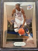 2012-13 Kevin Durant Panini Prizm FIRST YEAR BASE #35 - Thunder Nets Warriors
