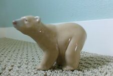 Lladro Bear Pottery Made in Spain 4 x 5 Inch