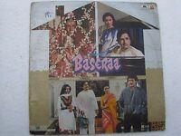Baserra R D BURMAN Hindi LP Record Bollywood India-1378