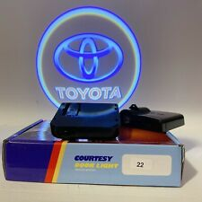 2pcs Door Logo Light LED Laser Projector Step Courtesy Welcome Ghost For toyota