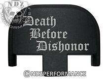 Rear Slide Plate for Smith Wesson S&W SD9 SD40 VE 9mm 40BK DBD Dishonor 2