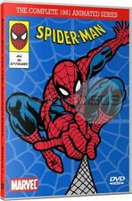 Spider-Man 1981 Animated Cartoon TV Series DVD Set