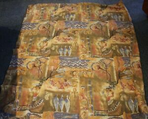 vintage ANCIENT EGYPT print fabric single bed quilt cover set Cleopatra