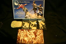 54MM  TIME MACHINE MINIATURES THE DEATH OF TECUMSEH  KIT #  AHS - 4