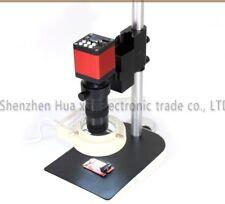 Microscope Hdmi 13mp 60fs Hd Vga Industrial Camera130x C Mount Lens Led Ring