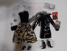 Tim Gunn Barbie doll clothes outfit set lot for model muse
