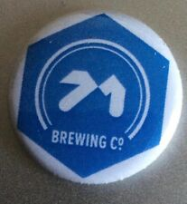 71 Brewing mini pin badge, new