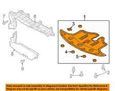 KIA OEM 2016 Sorento Splash Shield-Under Engine / Radiator Cover 29110C6500
