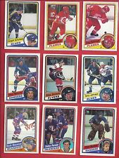 1984-85 O-Pee-Chee Hockey you pick 10 picks $2.00 NM to Mint
