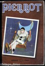 RN1 - album PIERROT - Ed. FLASH 1982 con 111 figurine su 180