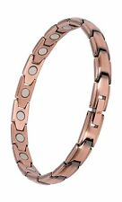Elegant Pure Copper Magnetic Therapy Bracelet Pain Relief for A... Free Shipping