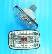 Pair Side Marker Lights Crystal For Toyota Hilux 4Runner LN145 LN166 Pickup