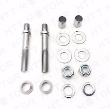 Mirrors Turn Signals Mount Hardware Adapter Bolt For Harley Classic Custom