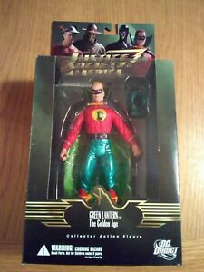 DC DIRECT JUSTICE SOCIETY OF AMERICA GREEN LANTERN ACTION FIGURE / ALEX ROSS