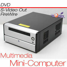 MINIPC CPU 1,6GHz S-VIDEO TV-OUT 160GB 1GB 12V NETZTEIL 7.1 CHANNEL SOUND MM
