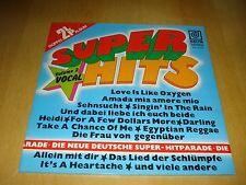 Super Hits - 2 LP's - Love is like Oxygen - Amada mia amore mio usw.