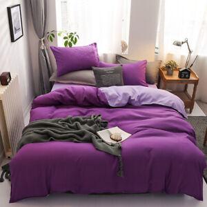 Bedding Set Soft Comfortable Pattern Duvet Cover Pillow King Queen Full Size