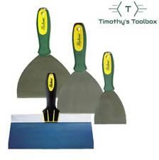 "Richard Ergo-Grip Stainless Steel (4,5,6"") Set + 10"" Blue Steel Taping Knife"