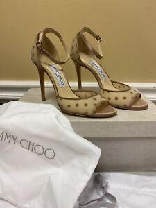 JIMMY CHOO Annie, Nude Women's Shoes, Size US 6, EU 36, NIB