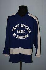 Dearborn Michigan Police Officers Association Hockey Jersey L