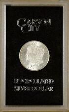 1878-CC Uncirculated GSA Hoard (Hard Pack) Morgan Dollar - Box & COA 100% White