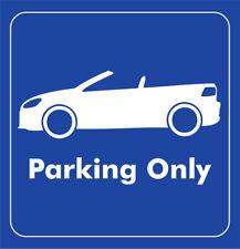 Parking Only - VW Golf VI Cabrio - Aufkleber