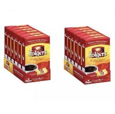 12 Boxes Folgers Classic Roast Instant Coffee 7 Single Total 84 Packets Exp 2/22