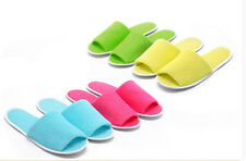 1Pair Portable Breathable Disposable Slippers Hotel Slippers SPA Slippers LJ