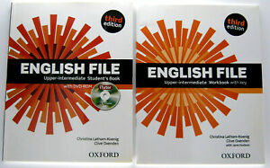 ENGLISH FILE UPPER-INTERMEDIATE THIRD EDITION STUDENT'S BOOKS ,WORKBOOK WITH DVD