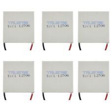 6X TEC1-12706   Heatsink Thermoelectric Cooler Cooling Peltier Plate Module