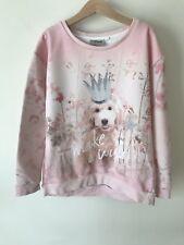 Girls Next Age 9 Pink Puppy Dog Jumper