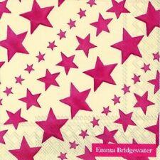 Emma Bridgewater - 20 servilletas Cócteles/Servilletas - 25x25cms - Rojo