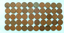 Lot of 50 Canadian George V Small Cents