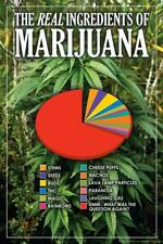 The Real Ingredients of Marijuana Funny - Poster 24x36 inch
