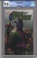 YOUNG AVENGRS #4 CGC 9.6 WPGS CPTN AMERICA & IRON MAN APPEAR HEINBERG STORY 2005