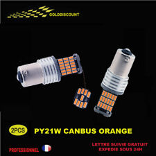 pY21w led canbus anti erreur odb 45 smd orange clignotant /