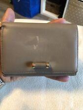 LE TANNEUR Ladies Beije Leather Clutch Purse Bifold Wallet.
