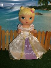 2015 BABY ALIVE  DOLL & PRINCESS DRESS (DRINKS AND WETS) 12""
