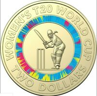 2020 ICC WOMEN'S T20 WORLD CUP 2 DOLLAR COIN