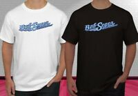 Bob Seger and Silver Bullet Logo Black White Men's T-shirt S-2XL
