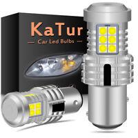 2 x ampoule CANBUS 24W LED 1157 BAY15D P21/5W Blanc Voiture Feux Jour Clignotant