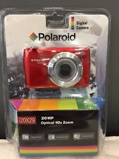 Polaroid i20X29-RED-WM 20MP/10x Optical Zoom Camera *NEW & SEALED*