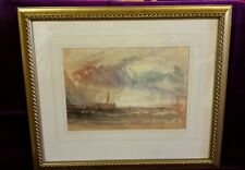 Painting Venice Storm At Sunset c1840 J.M.W Turner RA
