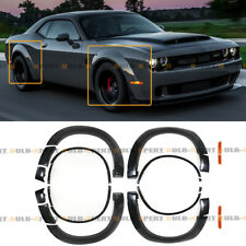 DEMON STYLE WIDEBODY FENDER FLARES KIT FOR 2015-19 DODGE CHALLENGER SRT HELLCAT